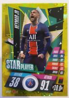 2020/21 Match Attax UEFA Champions League - Neymar Jr Star Player PSG