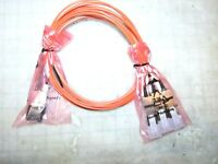 Amphenol FCI Fiber Optic Cable Assy CXP TO QSFP AOC 120GBS, #  ICD120GVP2420-03