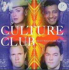 "CULTURE CLUB ""I JUST WANNA BE LOVED"" PROMO CD SINGLE / BOY GEORGE RICHIE STEVENS"
