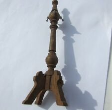 Schneegas Miniature Coat Tree Dollhouse Parlor Antique Carved Wood Rare Germany