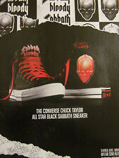 Black Sabbath, Converse Sneakers, Full Page Promotional Ad