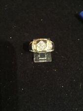 Ladies Silver Diamonte Ring