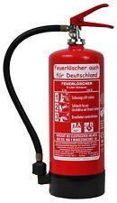 NEU Orginalverpackt 6 L Schaum Feuerlöscher DIN EN 3 GS Halter Manometer 6 LE Kg