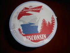 Budweiser Wisconsin BEER COASTERS 125 unopened - Brand New! Bud