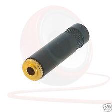 3.5 mm REAN NYS240BG Stereo Mini Jack Connettore Donna Cuffia Prolunga