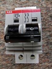 Abb S222 K3A Miniature Circuit Breaker 2 Pole 600 Volt