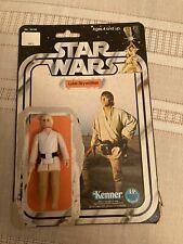 Vintage 1977 Kenner Star Wars Luke Skywalker Action figure12 Back One Owner