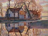 PIET MONDRIAN FARM NEAR DUIVENDRECHT 1916 OLD MASTER ART PAINTING PRINT 2570OM