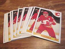 LOT OF 15 85/86 TOPPS LARRY MCDONALD CARDS PACK FRESH