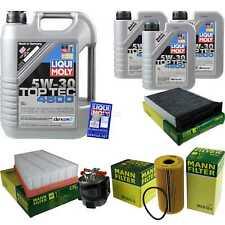 Inspection Kit Filter Liqui Moly Oil 8L 5W-30 For Renault Megane