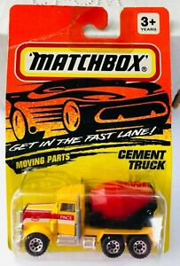 NEW 1993 MATCHBOX Peterbilt Semi Cement Mixer Toy Truck SEALED UNOPENED PACKAGE