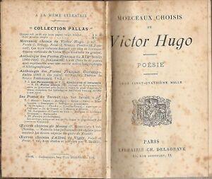 POESIE _ VICTOR HUGO _ LIBRAIRIE DELAGRAVE _ BALLADES