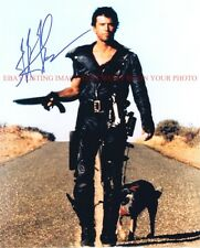 MEL GIBSON SIGNED AUTOGRAPHED 8x10 RP PHOTO MAD MAX with DOG