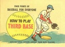 FINER POINTS OF BASEBALL HOW TO PLAY THIRD BASE COMIC MINI PROMO GIVEAWAY NM