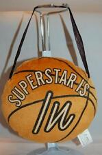 Burnt Orange Basketball Superstar Is In Out Door Hanger Plush Stuffed Toy 5.5""
