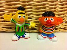 Sesame Street Ernie and Bert PVC Figurine 3'' Cake Toppers