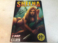 SIGNED TIM SEELEY ROBER RODI SHEENA SPECIAL #1 INCENTIVE COA 200% GUARANTEE