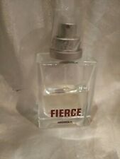ABERCROMBIE & FITCH FIERCE COLOGNE FOR MEN  1st ISSUE RED RARE PARTIAL @50%