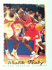CARTE NBA BASKET BALL 1995 PLAYER CARDS MALIK SEALY (232)