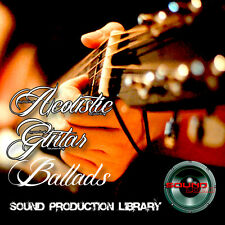 Acoustic Guitar Ballads - HUGE 24bit WAVE Multi-Layer LoopsGroove Library on DVD