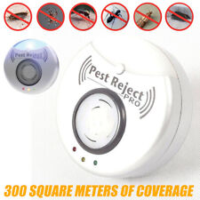 Pest Rat Reject Pro Ultrasonic Repeller Home Bed Bug Mite Roaches Spider Plug