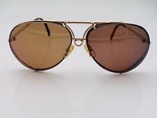 Vintage Porsche Design Carrera 5623A Gold Aviator Sunglasses Austria FRAMES ONLY