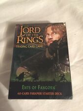 Lord of the Rings Trading Card Game Ents of Fangorn 60 Card Faramir Starter Pack