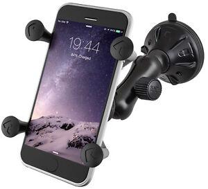 RAM Mount Twist Lock Suction Cup X-Grip Phone Mount RAP-B-166-2-UN7U *BRAND NEW*
