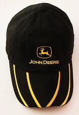 John Deere MPC Black Baseball Cap Sports Hat Adult One Size Cotton v