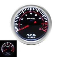 2'' inch 52MM Universal Car Motor LED Tachometer Tacho Gauge Meter Pointer RPM