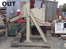 "32"" X 34"" X 28"" Hydraulic Parts Bin Dump/Dumper Hopper w/ 10"" Wide Chute 480V"