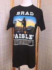 Brad Paisley Crushin' It Tour Concert Graphic T-Shirt Size Large Black Crew Neck