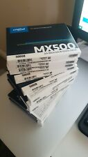 10 x Crucial MX500 500GB SSD -Brand new and sealed