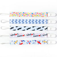 Colors Baby Kids Chain Clip Holders Dummy Pacifier Soother Nipple Leash Strap