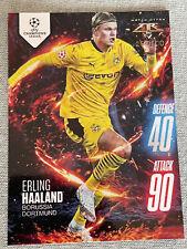 Erling Haaland Topps Match Attax Fire Card 207/500  Borussia Dortmund 2020-21