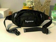 Brand New Supreme Black Waist/Shoulder Bag Fanny Pack for Women & Men Unisex -US