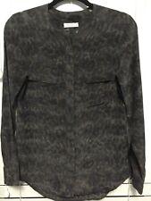 Equipment Silk Button Down Shirt Blouse Top Womens Size XS EUC