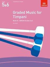 ABRSM Graded Music for Timpani (Grades 5-6) Book 3 - Same Day P+P