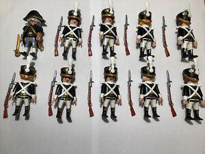 Playmobil Custom 10 Preussen Husaren Garde Wache Hafenwache Soldaten Füseliere