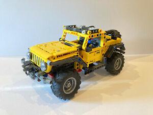 Lego Technic 42122 Jeep Wrangler Vollständig mit Anleitung und OVP
