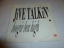 "BOOGIE BOX HIGH - Jive Talkin' - 1987 7"" Vinyl Single"