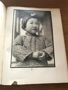 People in China Ellen Thorbecke 1935 1st Ed/1st Printing! 32 photographic plates
