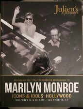 Julien's Auctions Catalog Marilyn Monroe Icons & Idols: Hollywood November 2018