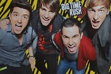 BIG TIME RUSH - A3 Poster (ca. 42 x 28 cm) - Carlos Clippings Fan Sammlung NEU