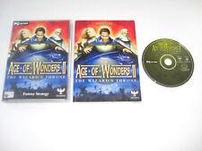 La edad de las Maravillas II el trono el asistente PC CD ROM NB Envío rápido
