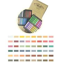 New Crayons Soft Dry Pastel Art Drawing Set Chalk Color Crayon Brush Stationery