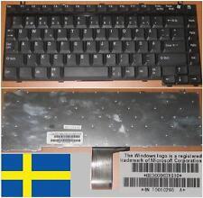 Clavier Qwertz Suédois Toshiba A10 A30 M30 M55 P30 Tecra A1 A2 G83C0003XG10 Noir
