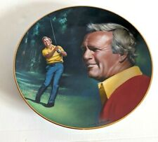 Vintage Arnold Palmer The Athlete of the Decade Hackett American Golf Plate