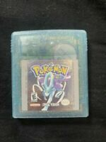 Pokemon: Crystal Version (Game Boy Color, 2001) TESTED *NO SAVING*