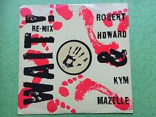 Robert Howard, Kym Mazelle-espera (re-mix), RCA PT-42598 ex condición A1/B1